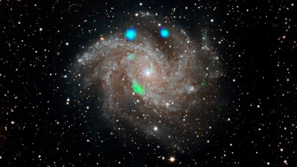 The 'Fireworks Galaxy' Is Exploding in X-Ray Light, and ...