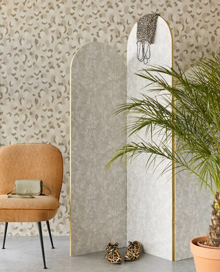 Leopard print wallpaper by Lime Lace