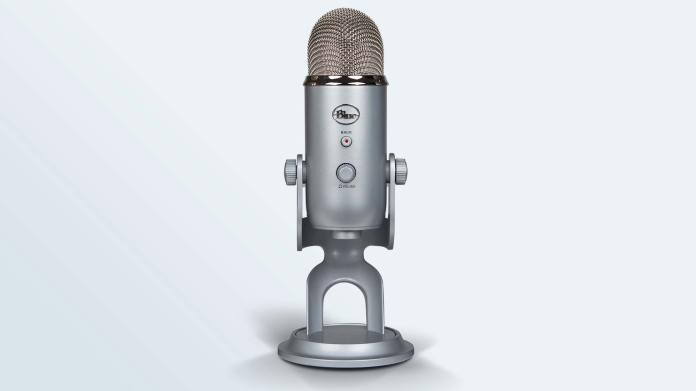 The Blue Yeti standing alone in the No. 1 spot