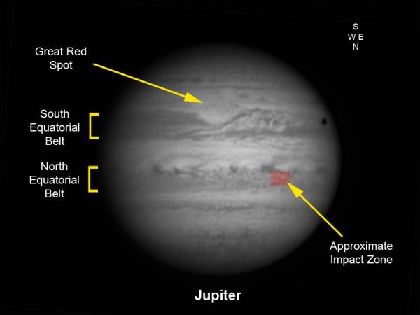 Jupiter Impact Pictures of Sept. 10, 2012 | Space