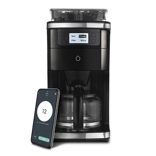 Smarter WiFi coffee machine