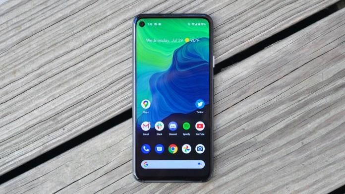 Best small phones: Google Pixel 4a