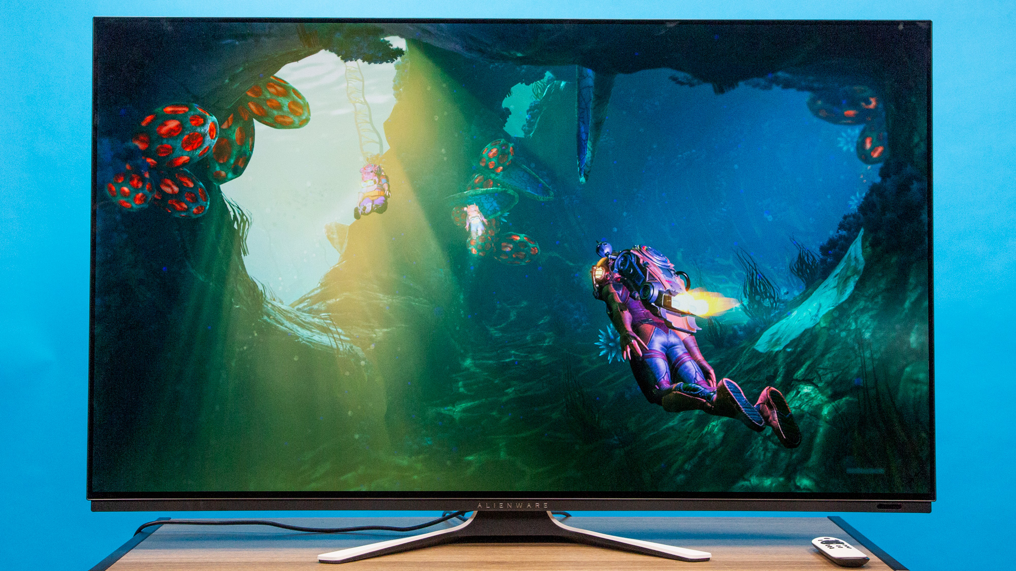 Best gaming monitors: Alienware AW5520QF