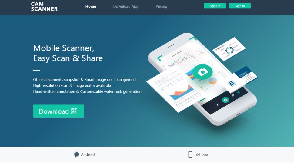 CamScanner - A business-grade scanning solution