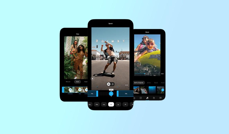 best video editing apps: GoPro Quik