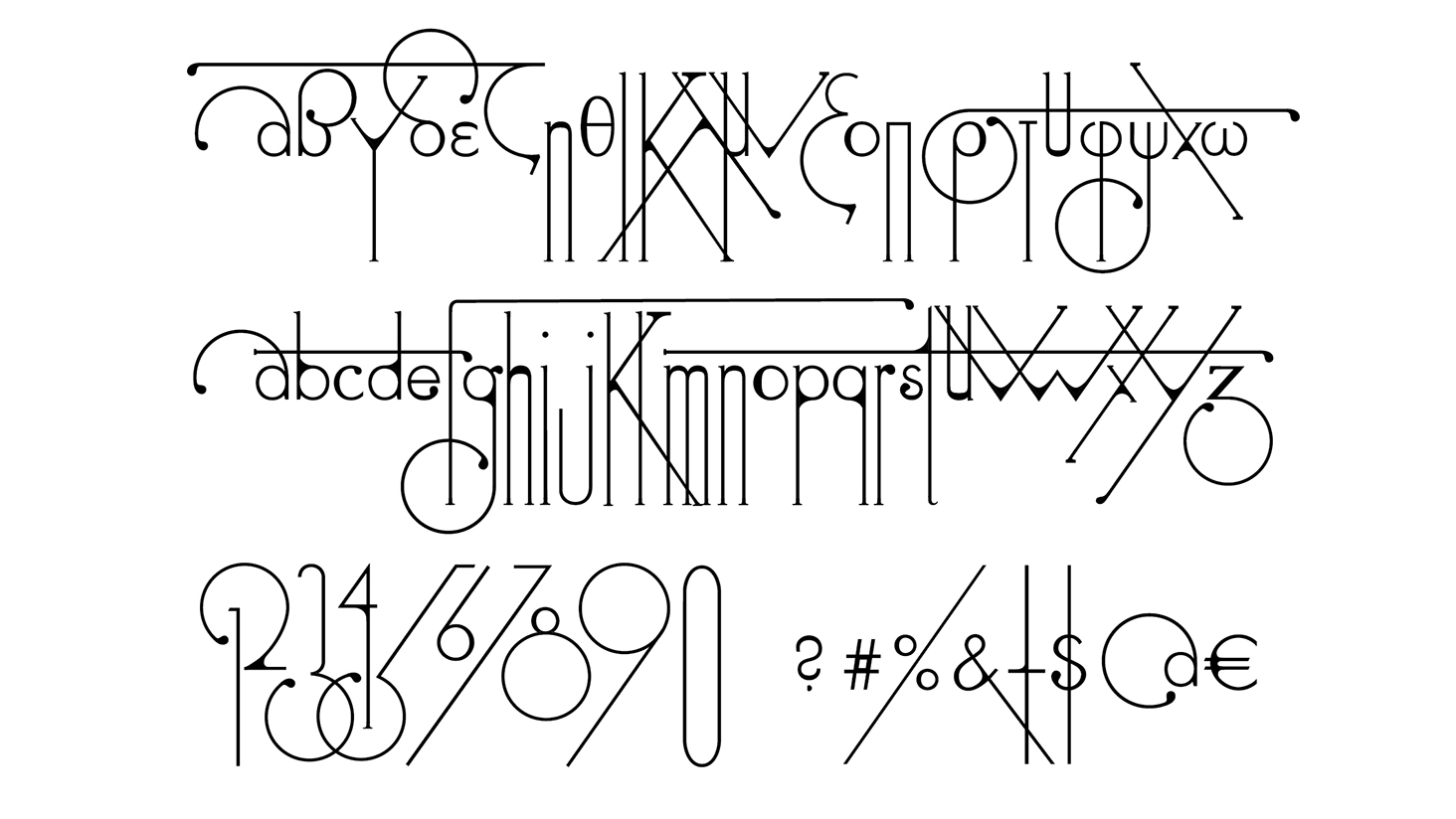 Free fonts Nevis