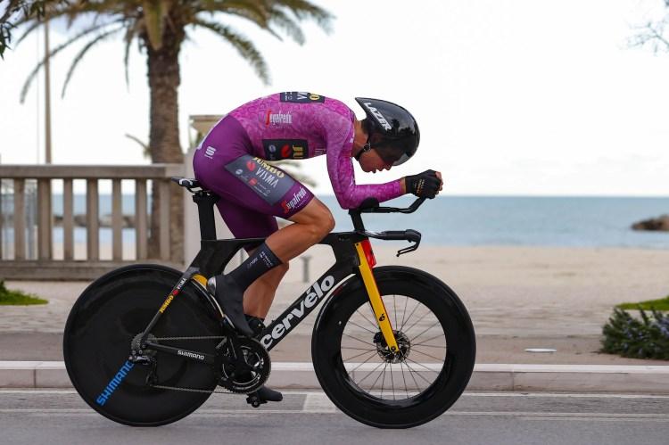 Tirreno-Adriatico: Wout van Aert beats Filippo Ganna in closing time trial  | Cyclingnews