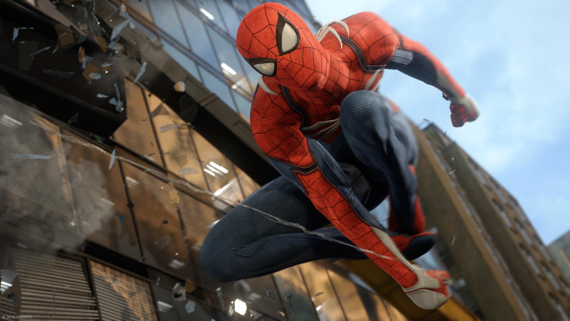 Image result for spider man insomniac