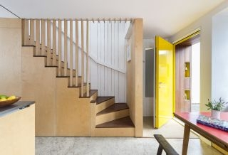 Staircase Design Ideas For A Welcoming Home Homebuilding | Metal Staircases For Homes | Beam | Stainless Steel | Support | Statement | Metallic