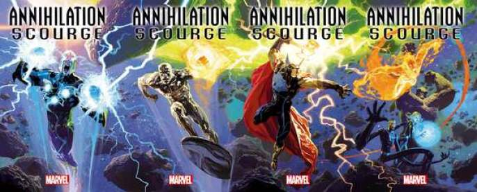 Nova, Beta Ray Bill, Silver Surfer and More Spin Out of Marvel's Cosmic ' Annihilation: Scourge' Event This December | Space