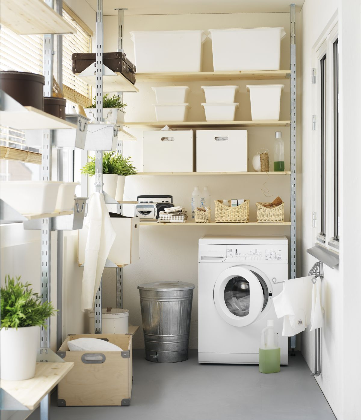Laundry room storage ideas: 13 ways to make your utility ... on Laundry Room Organization Ideas  id=28985