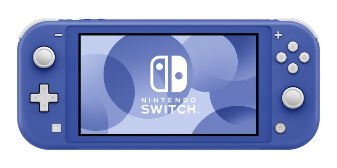 Un nuevo Nintendo Switch Lite azul llegará muy pronto - Xingoos
