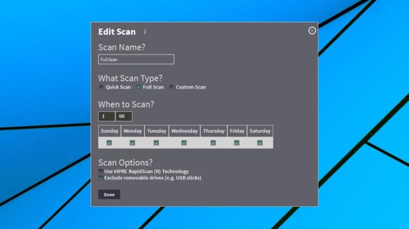 Full scan