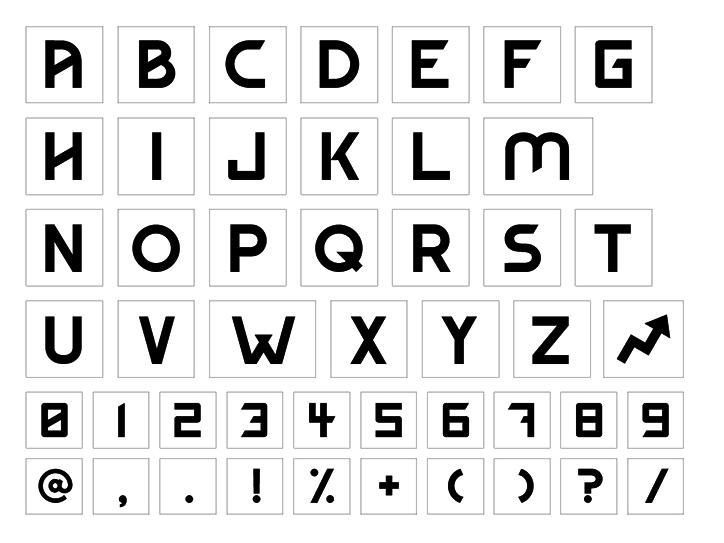 Buzzfeed UK typeface
