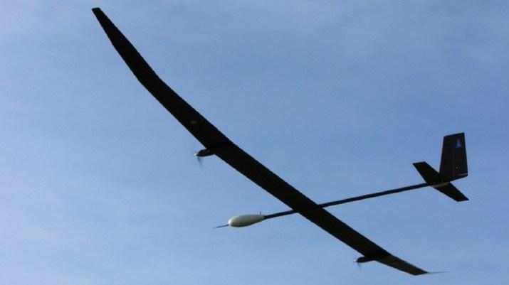 An image of the PHASA-35 UAV