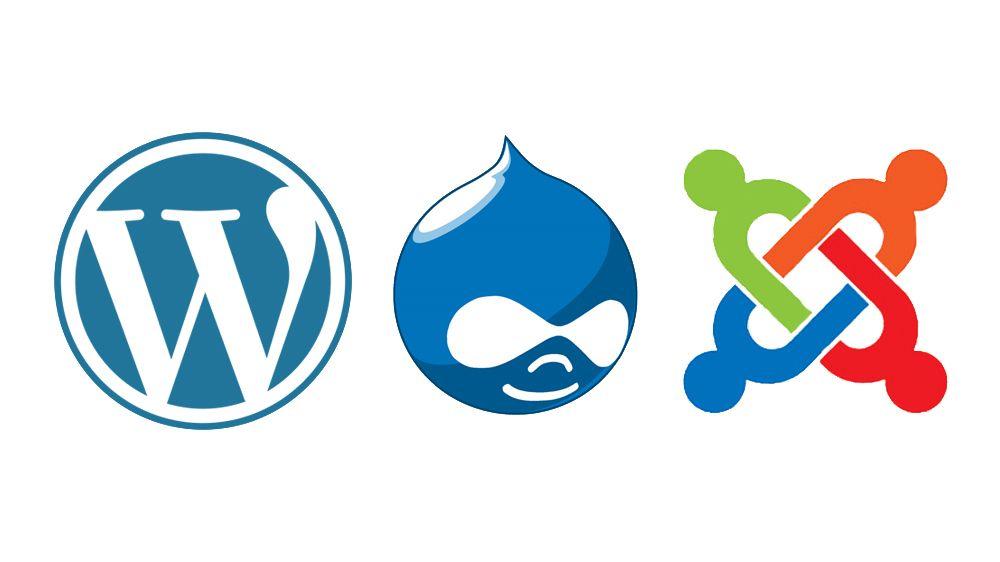 WordPress vs Drupal vs Joomla - Creative Bloq