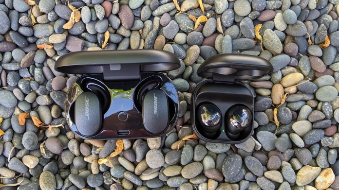 Samsung Galaxy Buds Pro Vs Bose Quietcomfort Earbuds Which Wireless Earbuds Are Best Tom S Guide