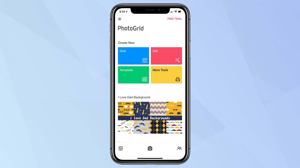 best photo collage apps: PhotoGrid