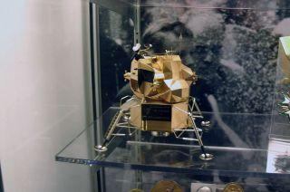 Neil Armstrong's Gold Apollo Lunar Module Model Stolen ...