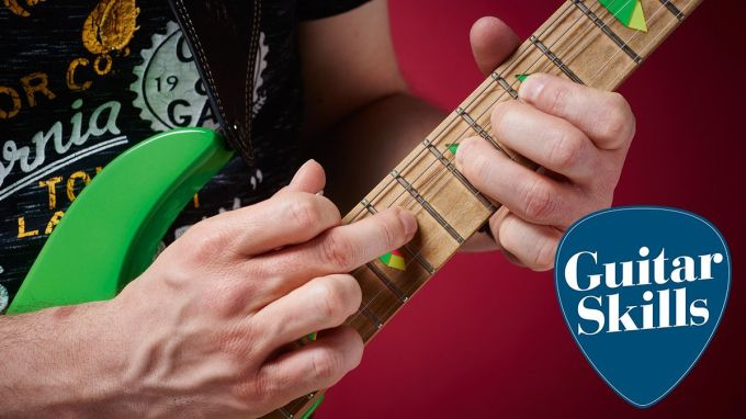 Lesson: How to create slick guitar solos using tapping and ...