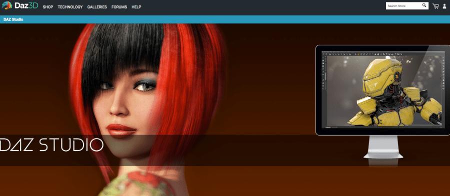 Daz Studio - free graphic design software