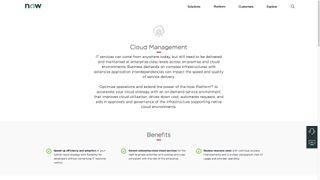 ServiceNow Cloud Management