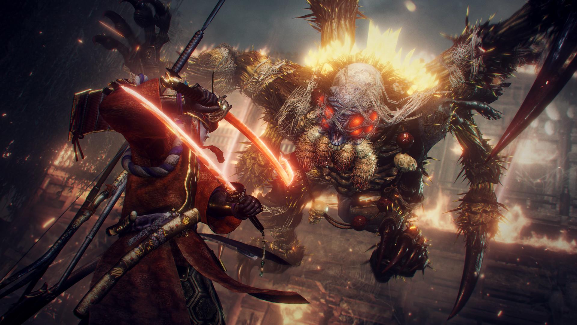 Gain more Yokai skills as you defeat enemies in Nioh 2