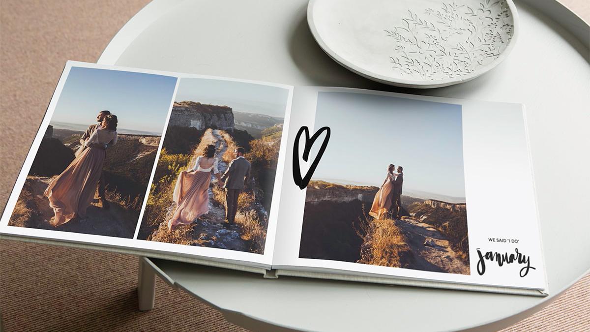 A photobook from BonusPrint