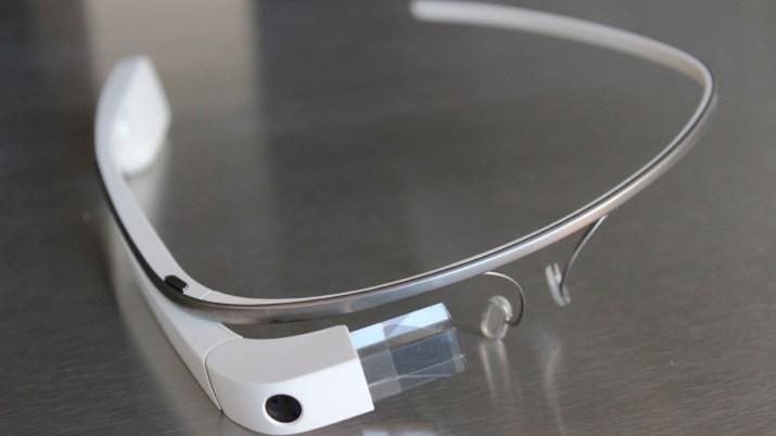 Image of Google Glass headset