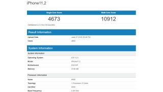 This could be the iPhone XI or iPhone XI Plus. Credit: Geekbench