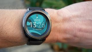Samsung's Gear Sport uses a rotating bezel