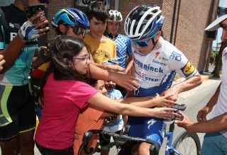 Remco Evenepoel and fans
