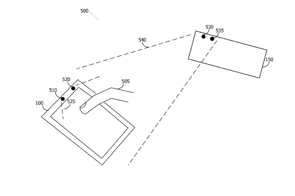 apple vr headset finger tracking