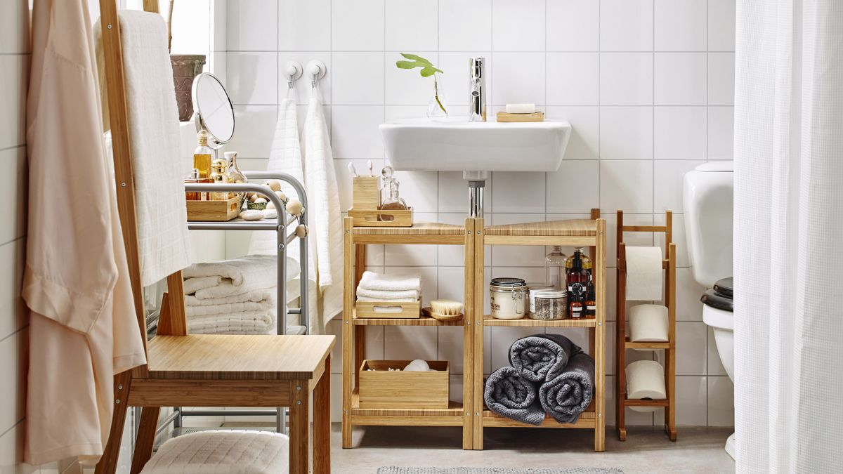 Small bathroom design ideas: 14 clever ways to stretch ... on Small Space Small Bathroom Ideas On A Budget id=22772