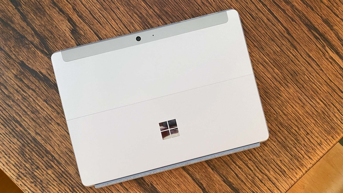 Microsoft Surface Go 2 review - back