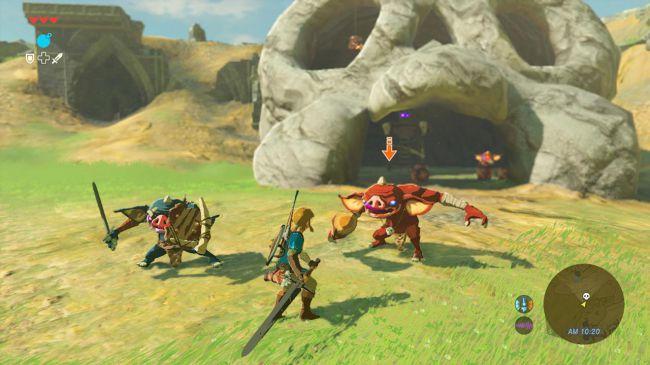 best Nintendo Switch games: legend of zelda: breath of the wild