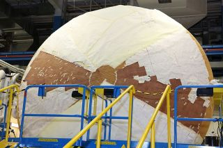 Heat Shield for NASA's New Orion Spacecraft Readies for ...