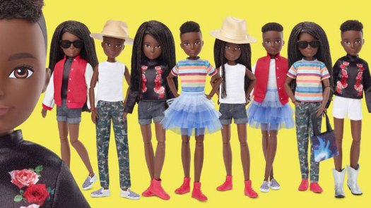 Gender-neutral dolls from Mattel
