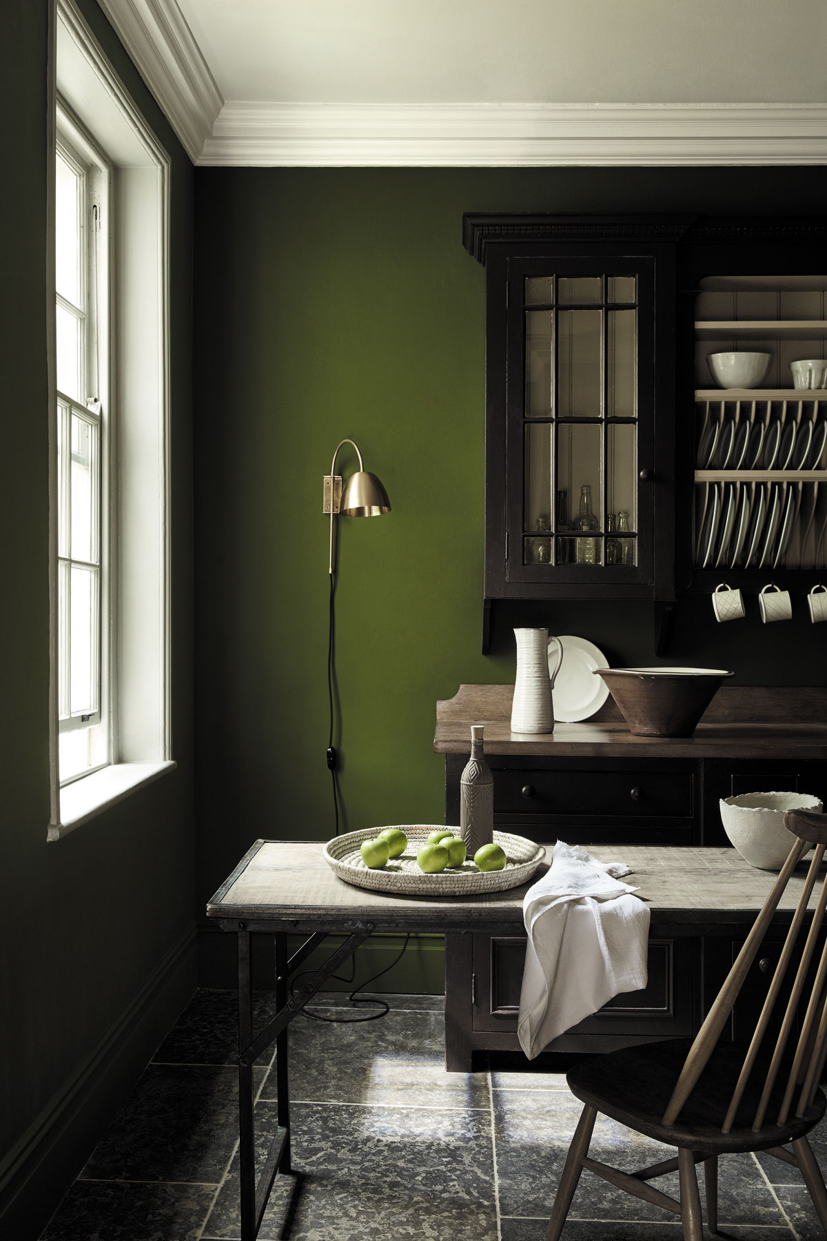 Natural Beauty How To Decorate With Olive Green Livingetc