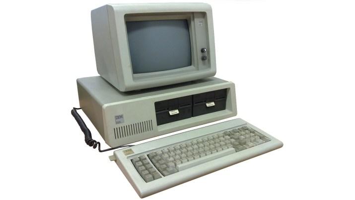 Image of IBM 5150 computer