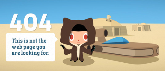 404 pages: GitHub