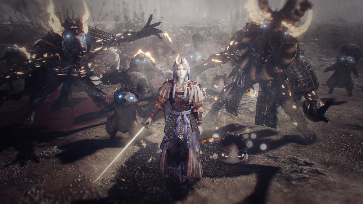 I played Nioh Remastered on PS5