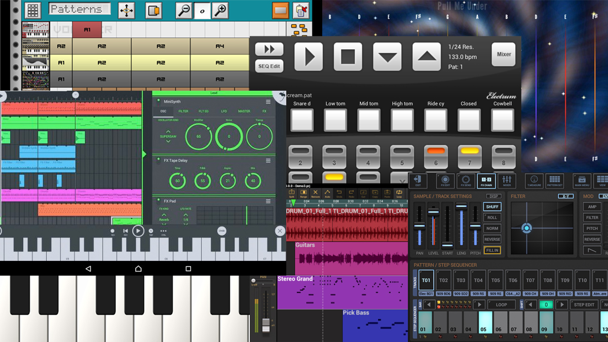 the best android music making apps in the world today   musicradar