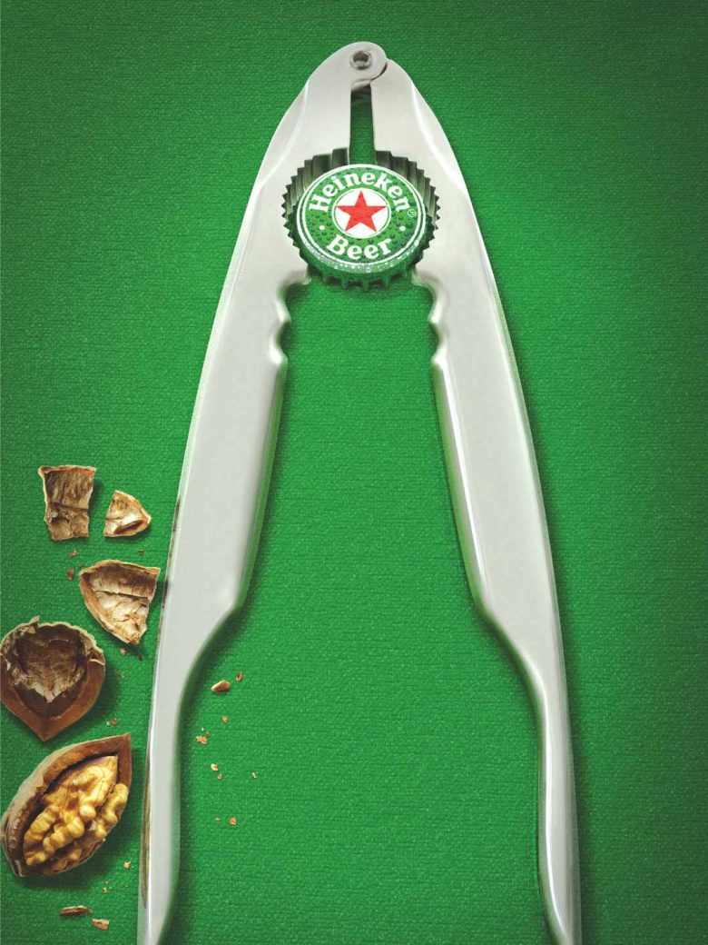 Best Christmas alcohol adverts: Heineken nutcracker