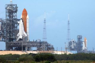 Rare Sight: Twin Shuttles at Launch Pad for Last Time | Space