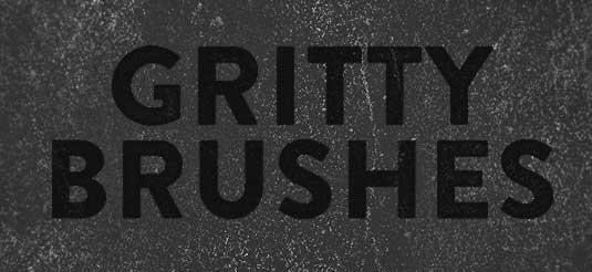 free Photoshop brushes: grime