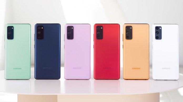 Samsung Galaxy S20 FE vs iPHone 12