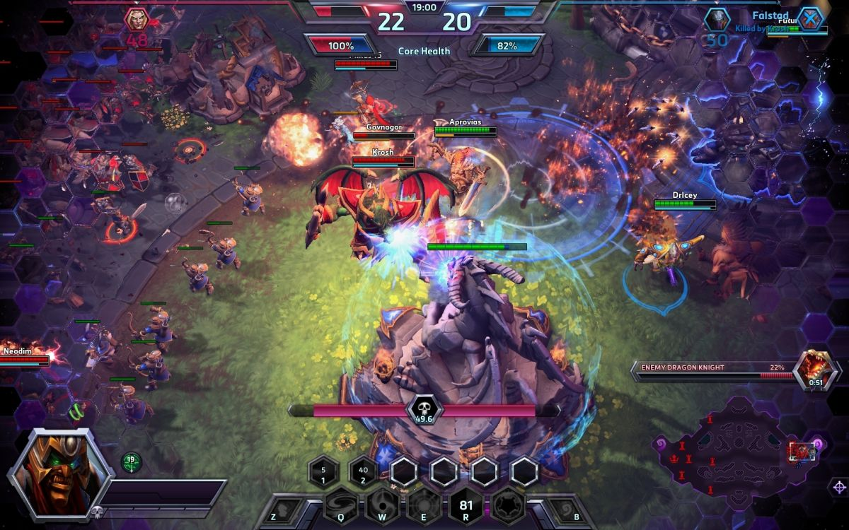Heroes Of The Storm Review PC Gamer