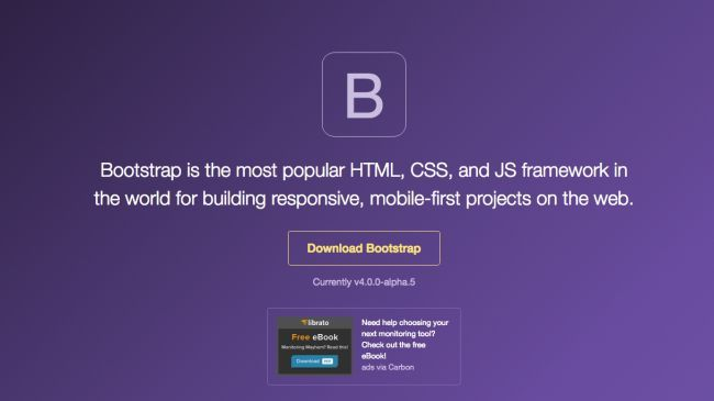 Old favourite Bootstrap has some powerful new updates