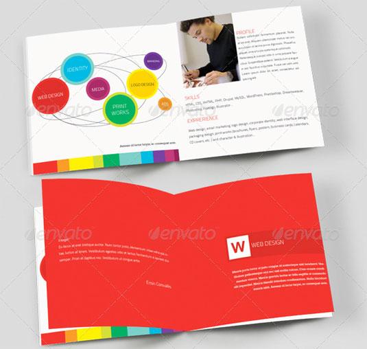 Best brochure templates: portfolio